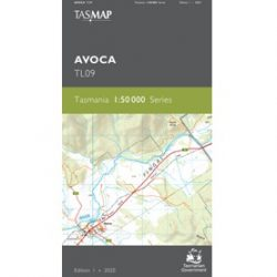 Avoca 1-50k Topo Map TL09