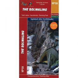 NP104 The Rolwaling Region Trekking Map, Nepal