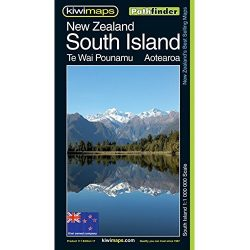 New Zealand South Island Map - 9415871000416