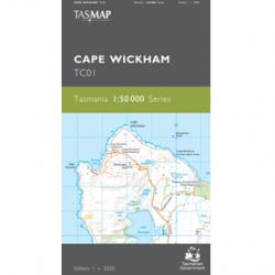 Cape Wickham 50k Topo Map TC01