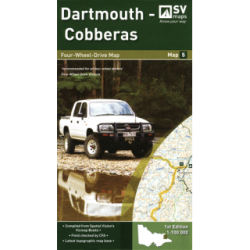 Dartmouth-Cobberas 4WD Map