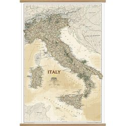 Italy Executive Wall Map