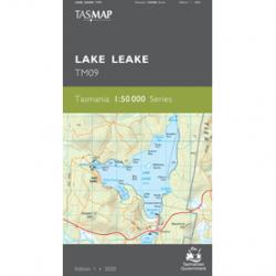 Lake Leake 1-50k Topo Map TM09