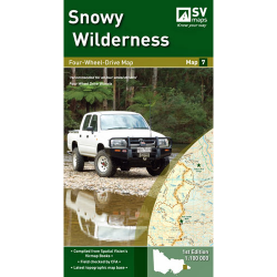Snowy Wilderness 4WD Map
