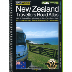 New Zealand Travellers Road Atlas 18e