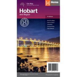 Hobart & Region Map 9321438002253