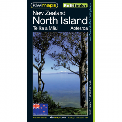 New Zealand North Island Map 23e