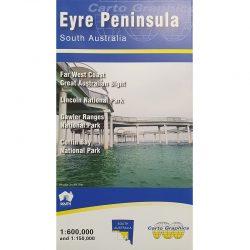 Eyre Peninsula Map 9780957906082