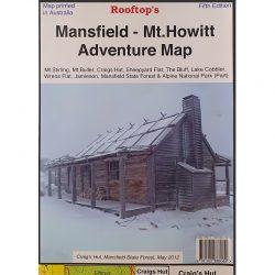 Mansfield Mt Howitt Adventure Map