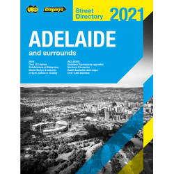 Adelaide Street Directory 2021 9780731932412
