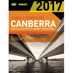 Canberra Snowy Mountains Street Directory 9780731930319