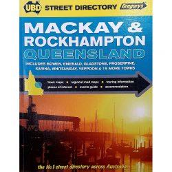 Mackay Rockhampton Street Directory 9780731926107