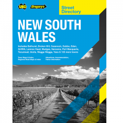 New South Wales Street Directory 9780731931569