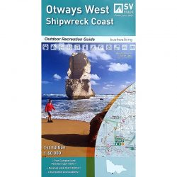 Otways West Shipwreck Coast Map 9780992323219