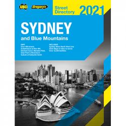 Sydney Blue Mountains Street Directory 2021 57e