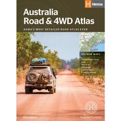 Australia Road 4WD Atlas Perfect Bound 9781876413774