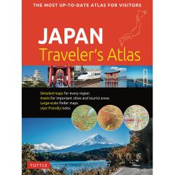 Japan Traveler's Atlas 9784805315415