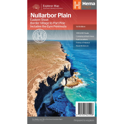 Nullabor Plain Map Eastern Sheet