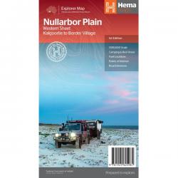 Nullabor Plain Map Western Sheet