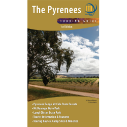 Pyrenees Touring Map and Guide