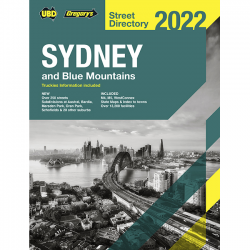 Sydney Blue Mountains Street Directory 2022 58e Cover