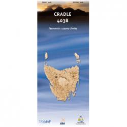 Cradle 4038 25k Topo Map