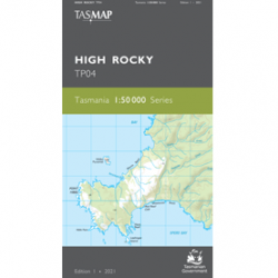 High Rocky TP04 50k Topo Map