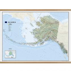 Alaska Classic Wall Map