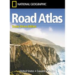 USA Road Atlas Scenic Drives 2021